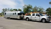 2014, 30ft Flying Cloud, Twin Beds, And 2014 Ford F250 Super Duty