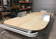 '68 Caravel New Frame And Sub-floor
