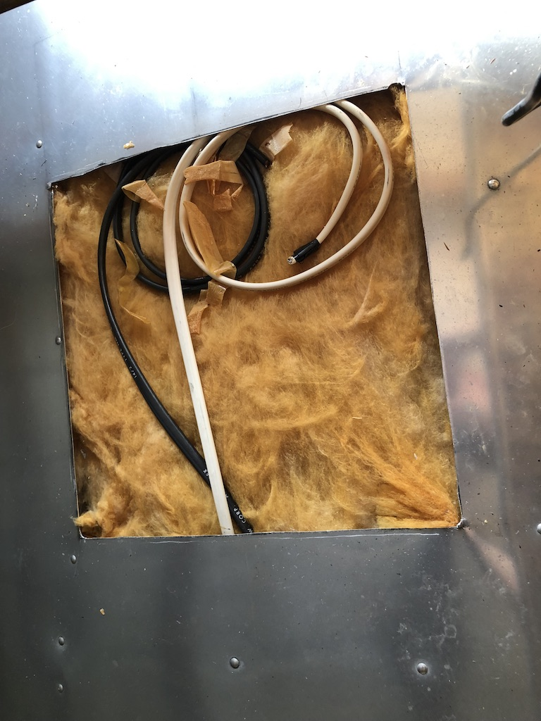 Caravel Air Conditioner Hole