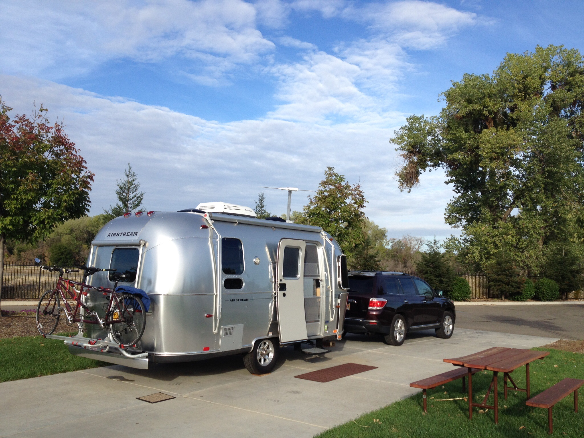 Heading Home At Durango Rv In Red Bluff, Ca