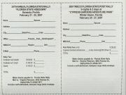 Florida State Rally registration form