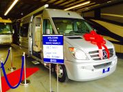 2011 Airstream Interstate Delivery May 2015
