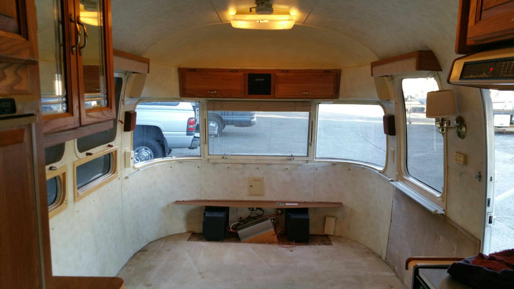 Interior When I First Got The Trailer