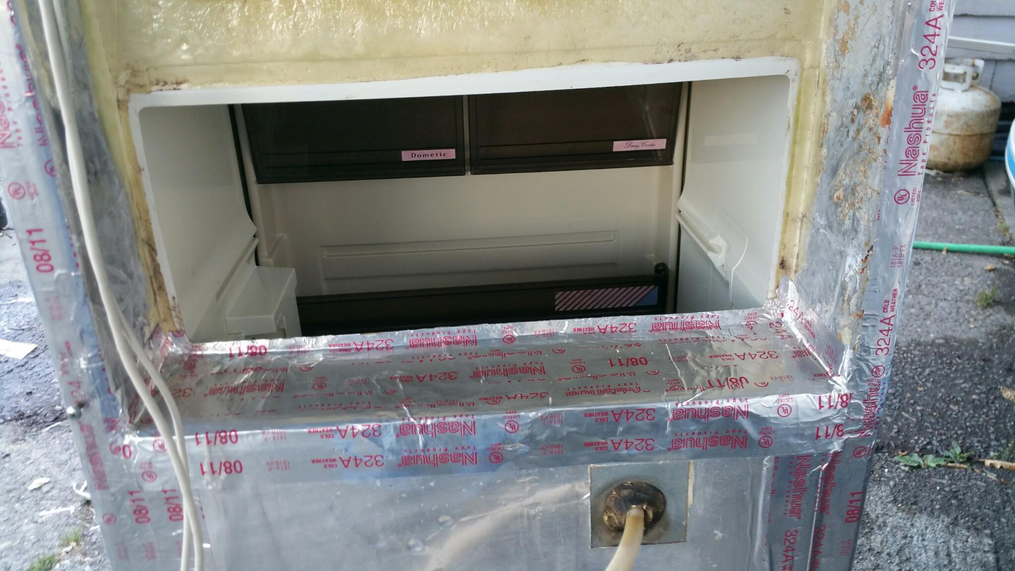 New Cooling Unit.