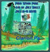 Penn Wood 4th Of July Logo