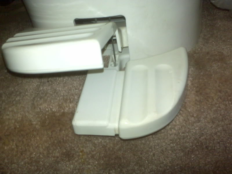Broken foot pedal on toilet - Airstream Forums