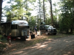 Ossineke State Forest Campground Lake