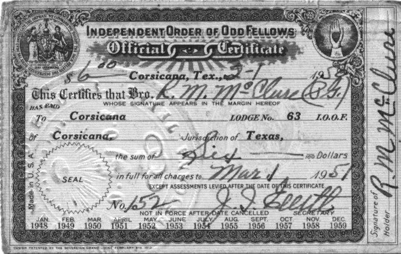 Click image for larger version  Name:19500201 Odd Fellows Certificate.jpg Views:74 Size:119.8 KB ID:101377