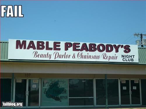 Click image for larger version  Name:Mable Peabodys' Beauty shop and Chainsaw repair.jpg Views:64 Size:32.0 KB ID:106480