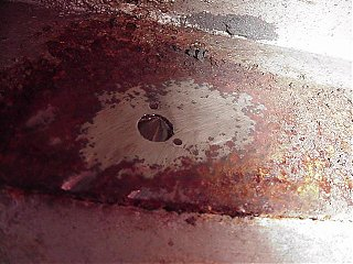 Click image for larger version  Name:Floor Bolt Ground Off.JPG Views:230 Size:52.9 KB ID:11040