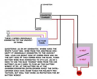 Click image for larger version  Name:Airstream - DC Power Center Schematic & Questions.jpg Views:137 Size:80.0 KB ID:111671