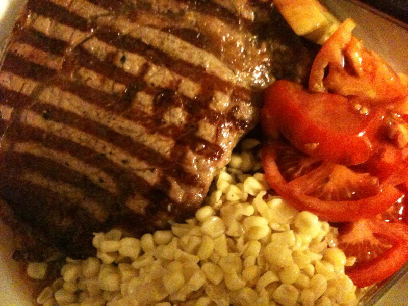 Click image for larger version  Name:Ribeye, Corn Relish and Tomatoes 110810.jpg Views:39 Size:181.0 KB ID:114825