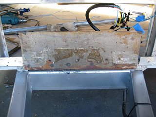 Click image for larger version  Name:Front Plate Before Painting.JPG Views:64 Size:73.1 KB ID:114949