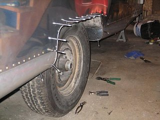 Click image for larger version  Name:Streetside Wheel Well Trim Clecoed in Place.JPG Views:83 Size:71.0 KB ID:116326