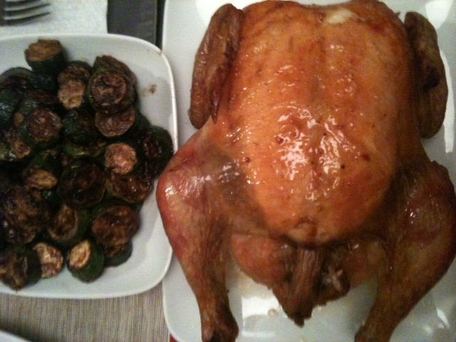 Click image for larger version  Name:Roast Chicken and Sauteed Zucchini 012611.JPG Views:55 Size:130.4 KB ID:120309
