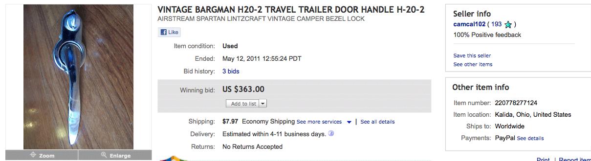Click image for larger version  Name:VINTAGE-BARGMAN-H20-2-TRAVEL-TRAILER-DOOR-HANDLE-H-20-2--eBay.png Views:164 Size:78.3 KB ID:130080