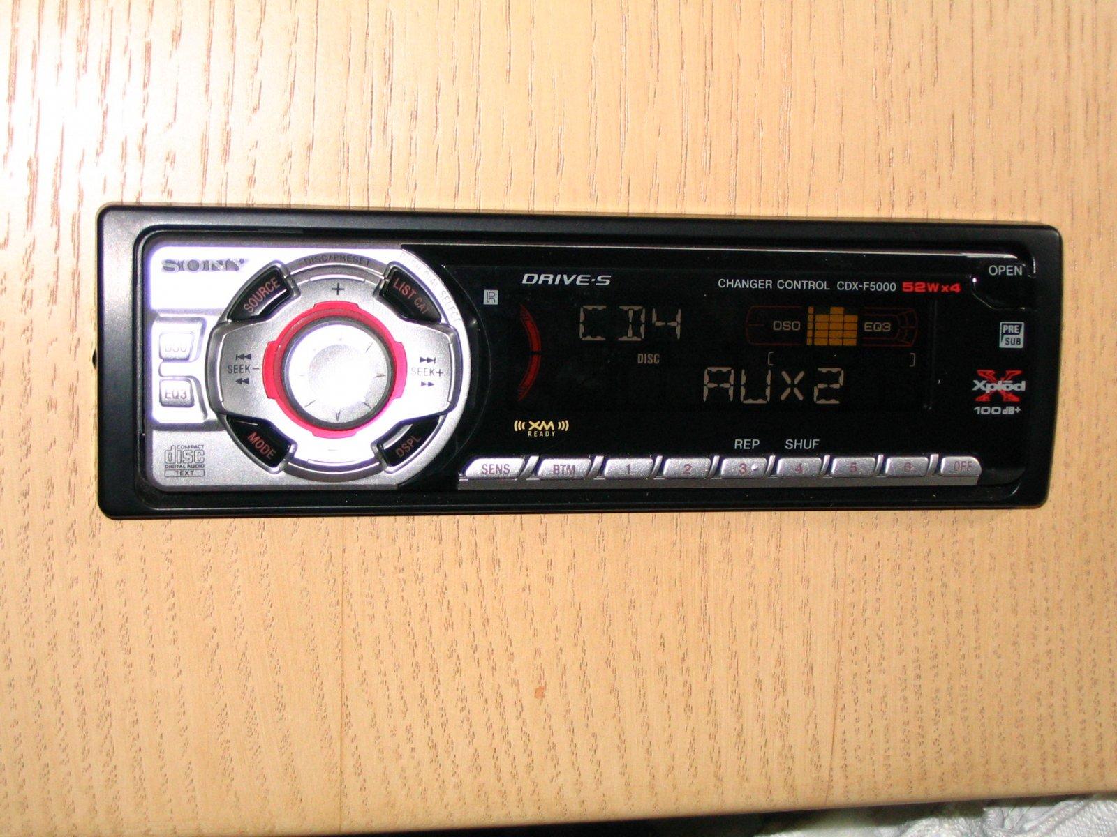 Sony Xplod Cdx F5000 Wiring Diagram