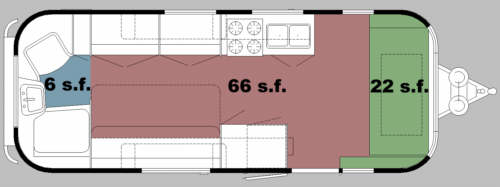 Square Footage Airstream Forums