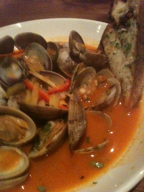 Click image for larger version  Name:Clams in Tomato Saffron Broth Boca 012012.JPG Views:46 Size:152.7 KB ID:149466