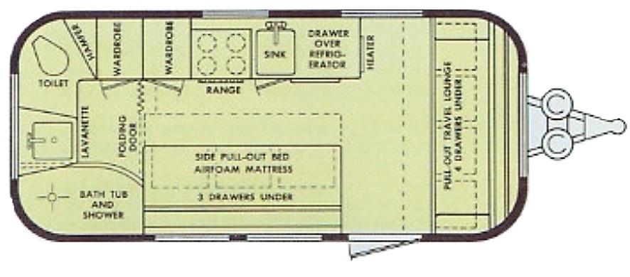 Airstream Globetrotter Floor Plans Floor Roma