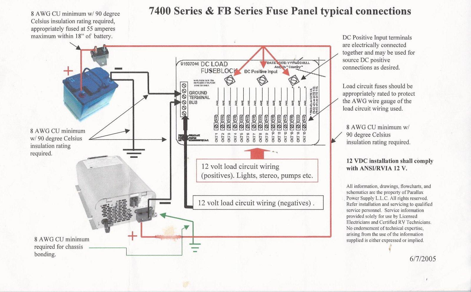 wiring  univolt to converter  u0026 39 74 tradewind