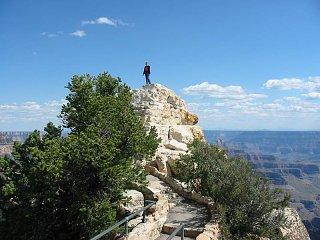 Click image for larger version  Name:Sue on Pinnacle.JPG Views:80 Size:67.1 KB ID:154148