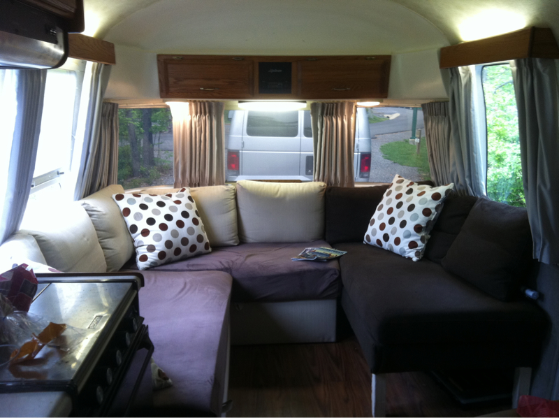 Peachy Couch For Airstream Airstream Forums Andrewgaddart Wooden Chair Designs For Living Room Andrewgaddartcom