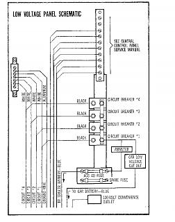 '68 Tradewind 12V between converter and control panel