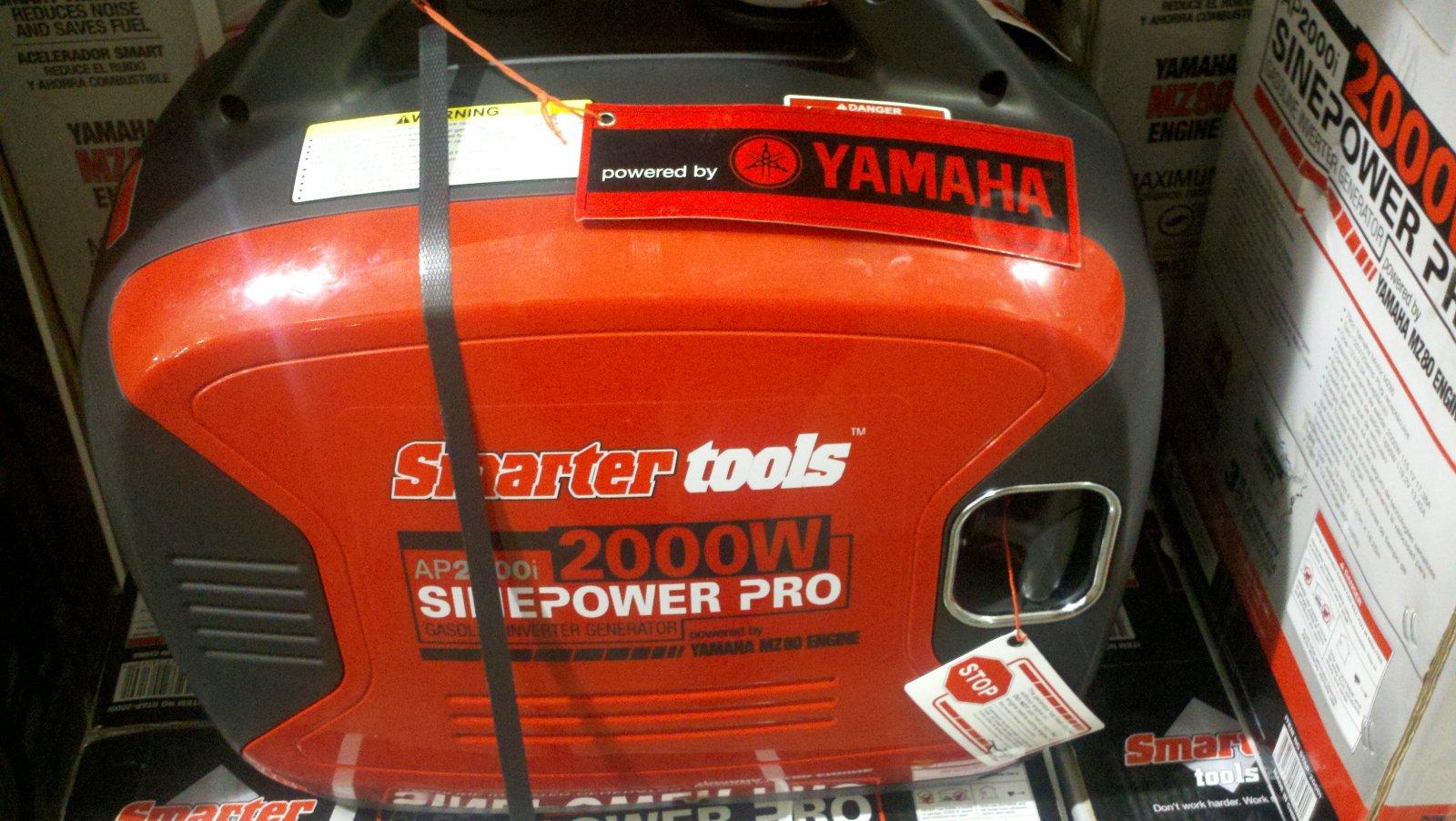 New Costco Yamaha Powered Generator - Airstream Forums