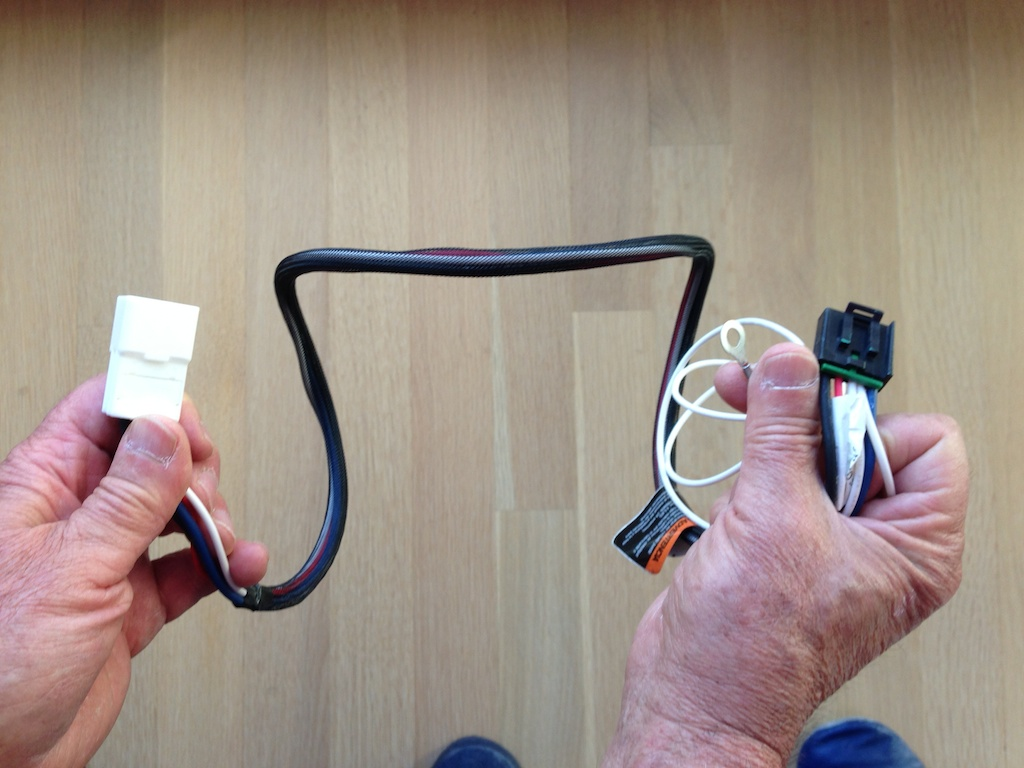 Installing A Direclink Brake Controller In Lexus Gx 460 Airstream Wiring Harness Click Image For Larger Version Name Views 112 Size