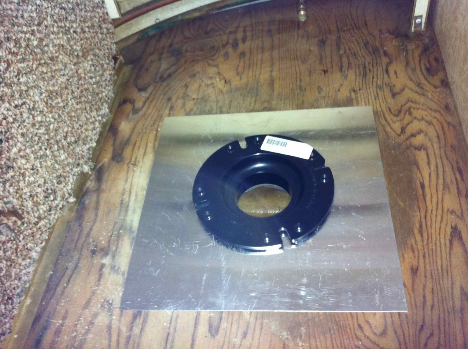 Click image for larger version  Name:New Toilet Flange.jpg Views:61 Size:310.1 KB ID:182191