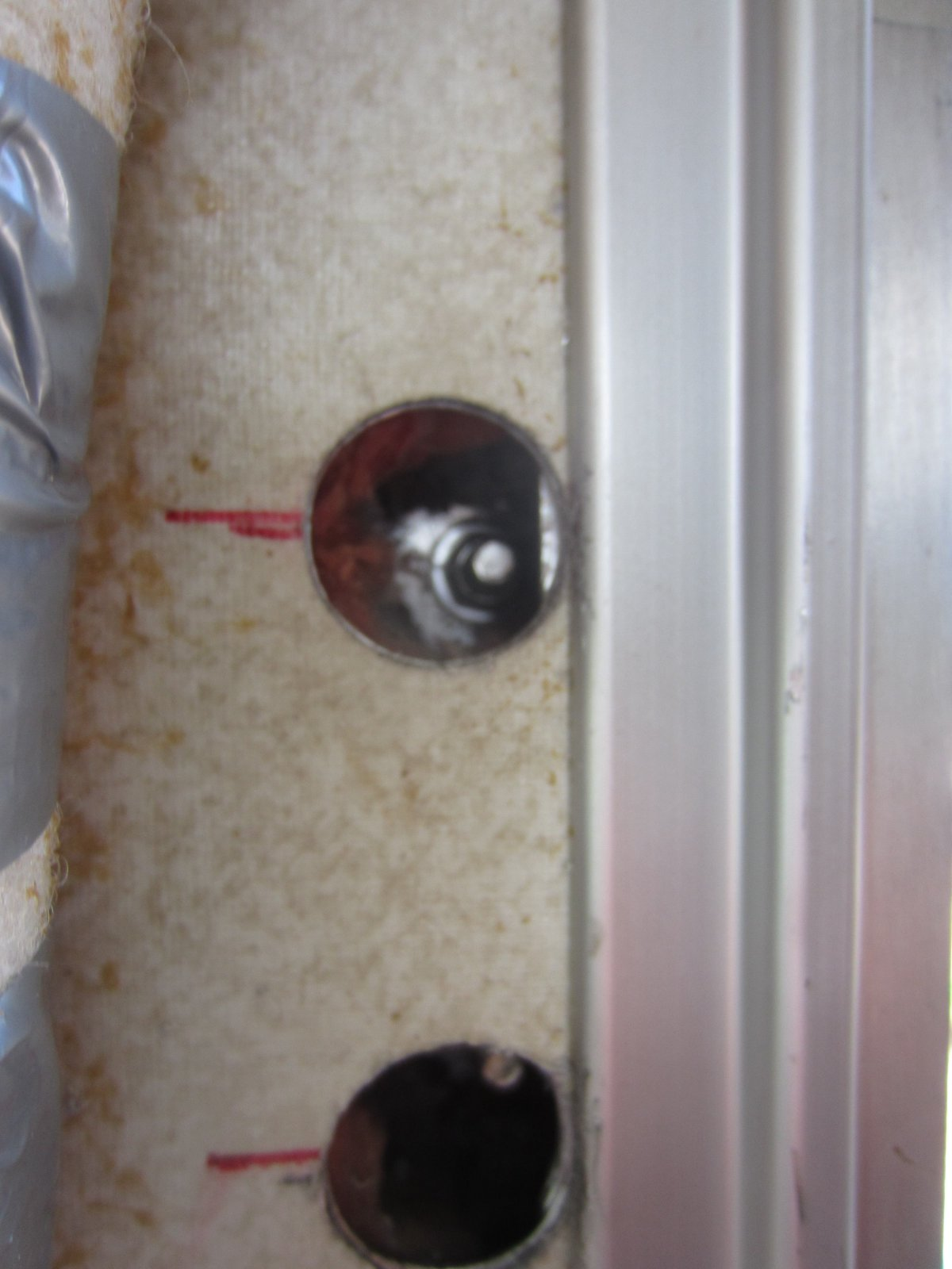 Click image for larger version  Name:Holes Drilled & New Bolts.jpg Views:51 Size:154.3 KB ID:183624
