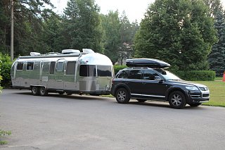 vw touareg  towing capacity page  airstream forums