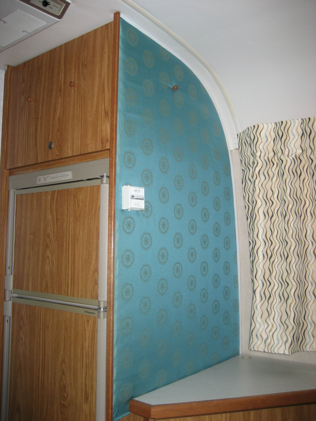 What\'s Behind this Fabric Wall Covering? - Airstream Forums