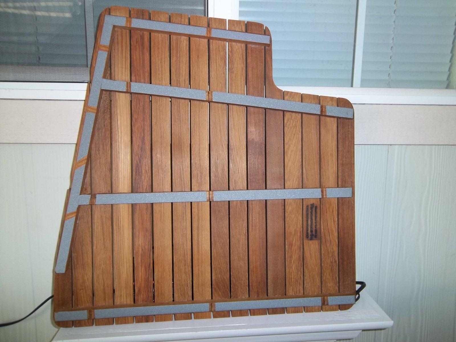 teak x shower floor mat bath insert ideas sizing for flooring with mats wood wooden