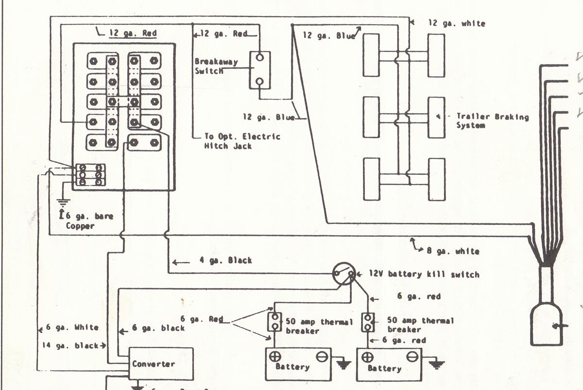 breakaway switch wiring