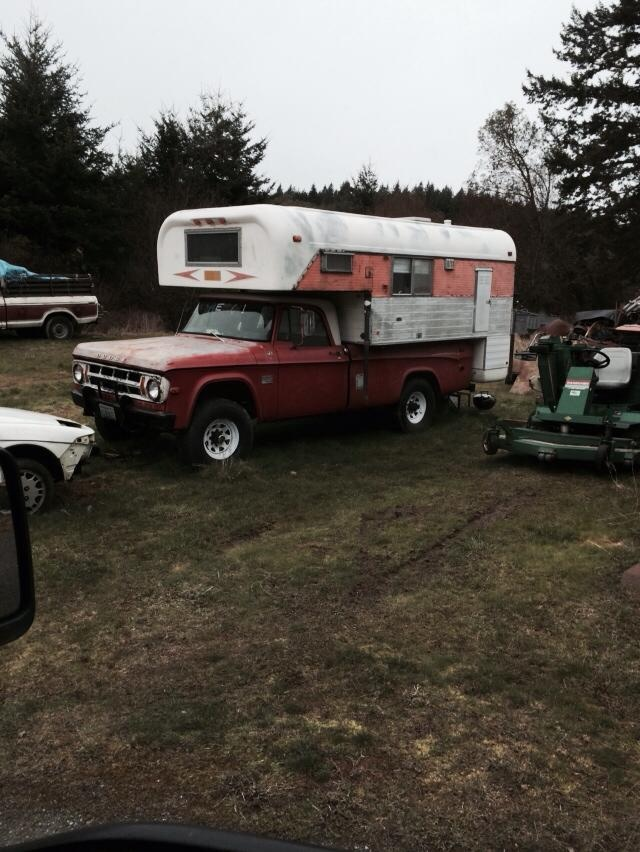 60s Chinook truck camper advice - Airstream Forums