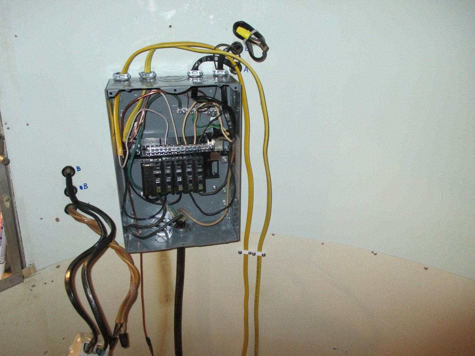 Install New 120v Circuit and Outlet - Airstream Forums
