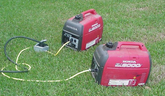 Click image for larger version  Name:Generators - Two Honda Eu200i's.jpg Views:589 Size:77.6 KB ID:22465