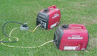 Click image for larger version  Name:Generators - Two Honda Eu200i's.jpg Views:665 Size:77.6 KB ID:22465