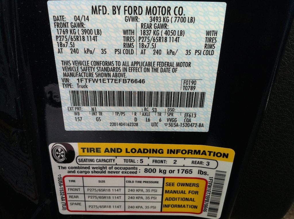 Click image for larger version  Name:F150 Load Info.jpg Views:94 Size:305.6 KB ID:227164