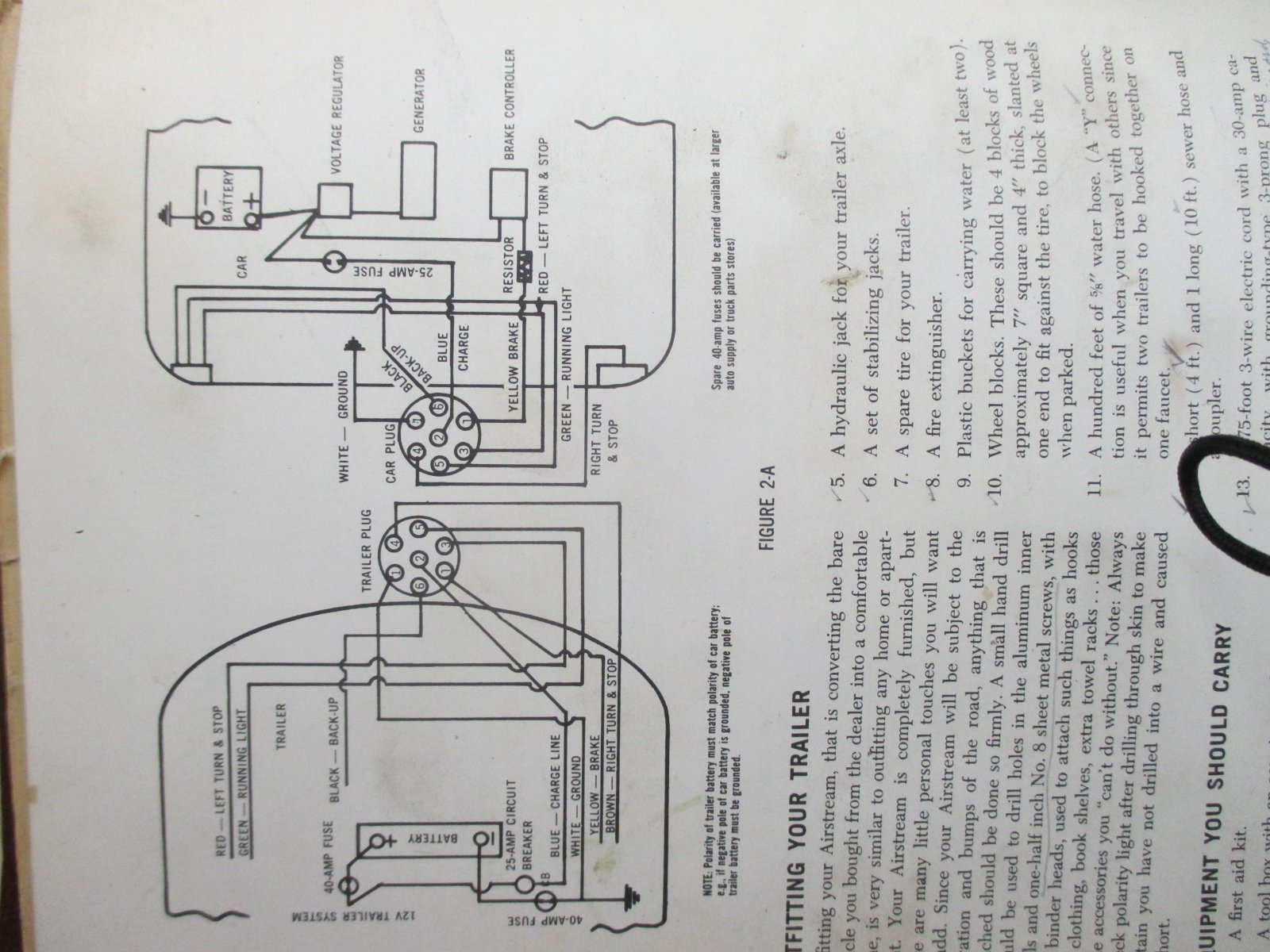 I'm sure this is a stupid question but.... - Airstream Forums  S Airstream Wiring Diagram on