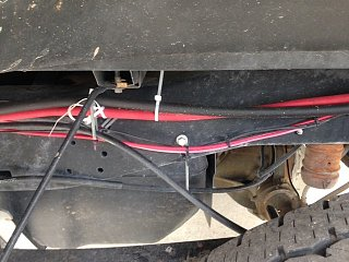 Click image for larger version  Name:00 Gauge wire connection run on frame of pickup.jpg Views:146 Size:74.1 KB ID:230296