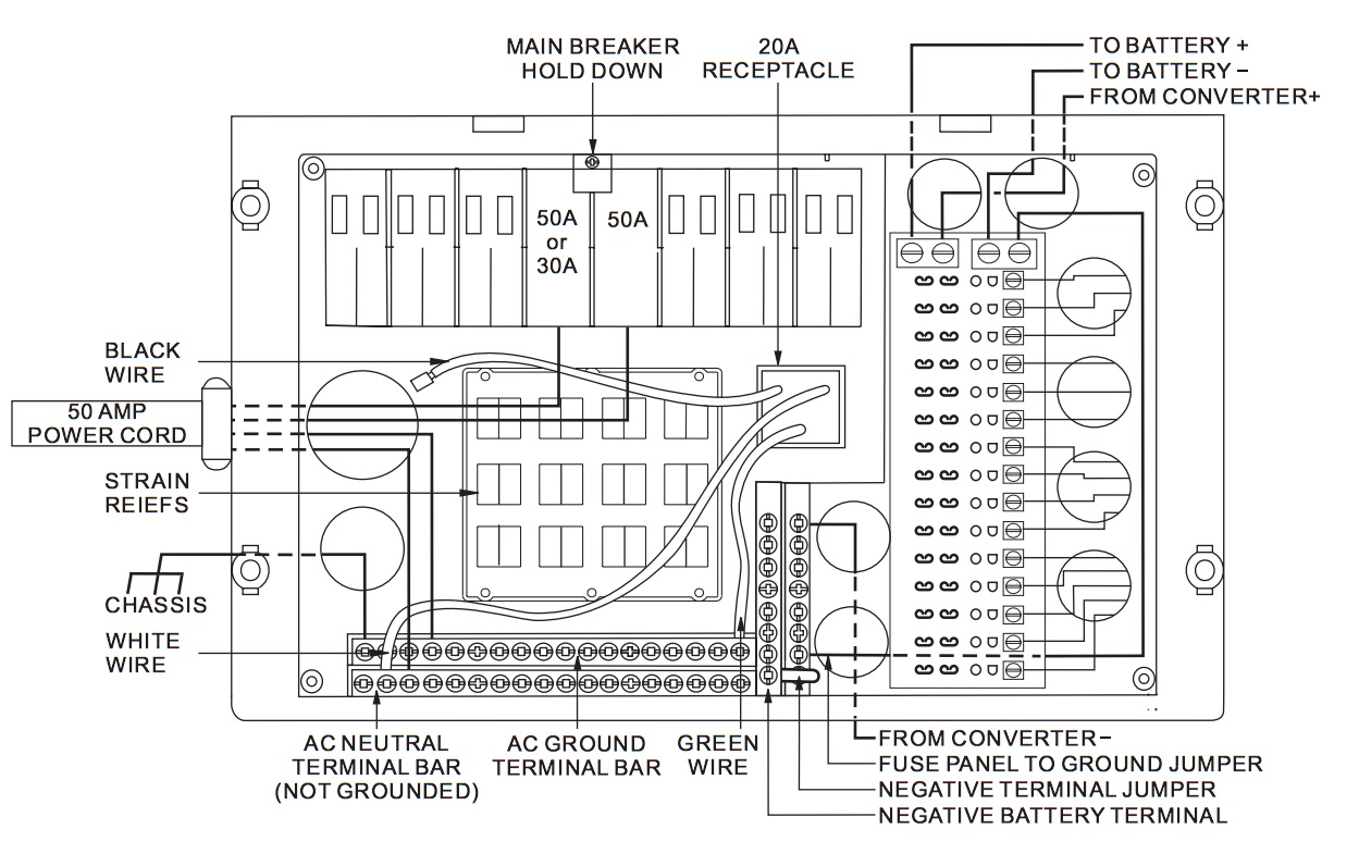 motorhome inverter wiring diagram motorhome image rv inverter wiring diagram wiring diagram and hernes on motorhome inverter wiring diagram