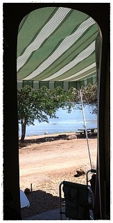 Click image for larger version  Name:Out our door at Iron Gate Reservoir.JPG Views:169 Size:175.4 KB ID:239263