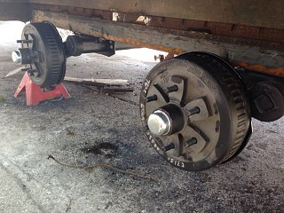 Click image for larger version  Name:Dexter brake and hubs.JPG Views:113 Size:482.0 KB ID:244023
