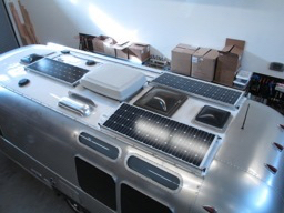 Solar Power For 2016 Airstream Flying Cloud 23fb