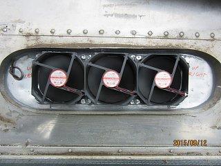 Fridge Vent Installation Airstream Forums
