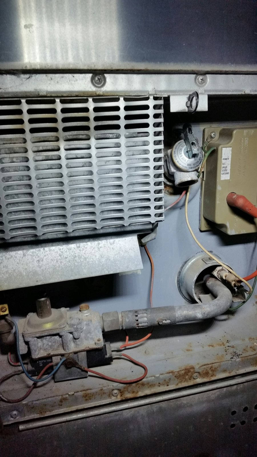Water heater temp adjustment-auto ignite system - Airstream Forums