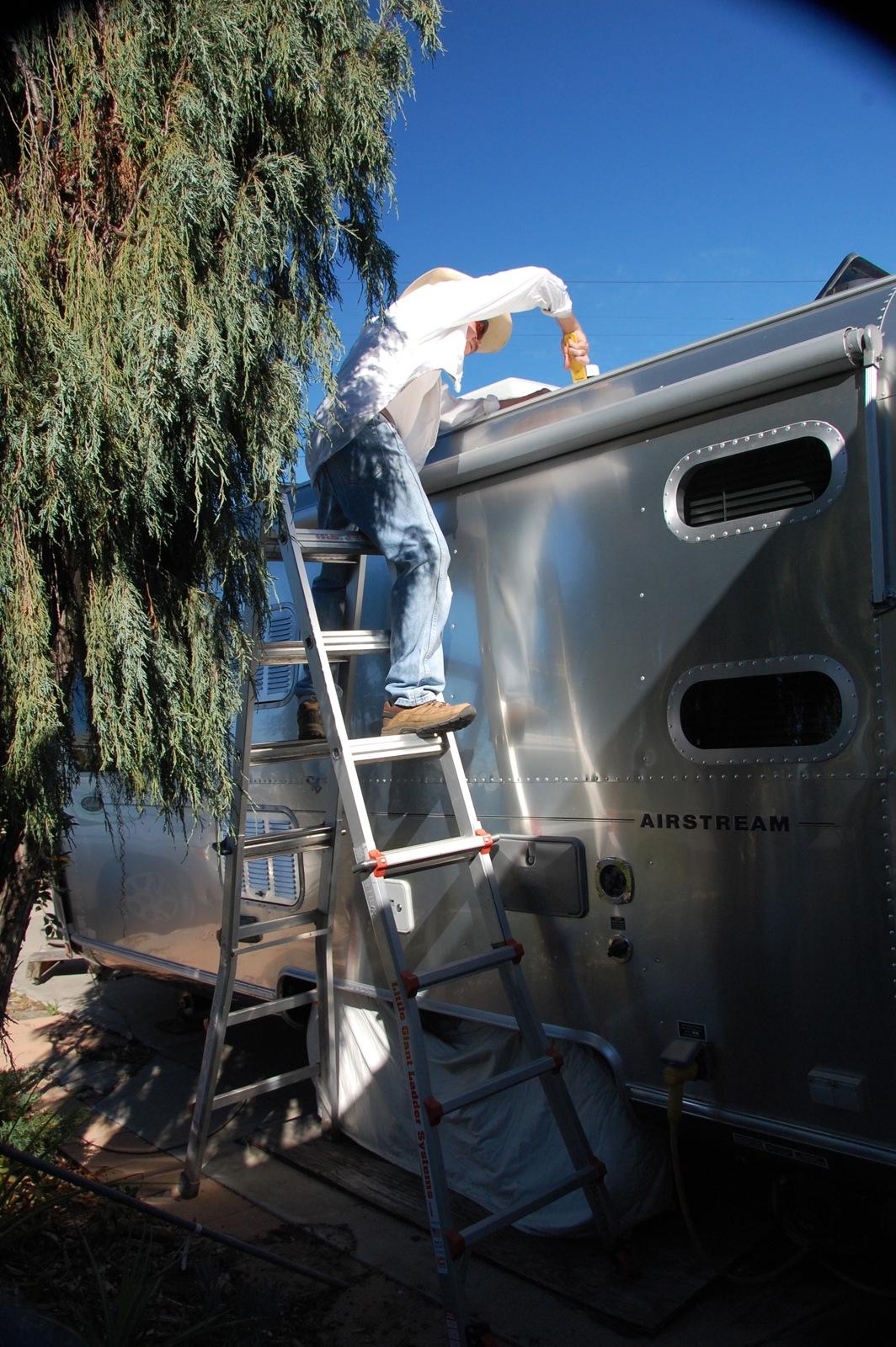 Resealing Airstream plumbing vent - Airstream Forums